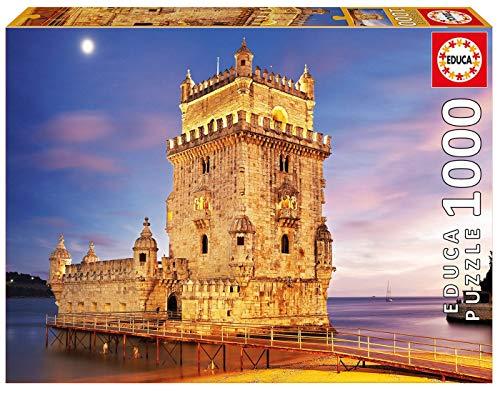 17195 Quebra Cabeças/Puzzle de 1000 peças Torre de Bélem, Lisboa. Ref