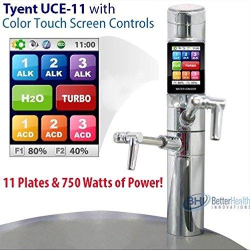 Tyent UCE 11 Plate Turbo Water Purifier Ionizer Alkaline Purification System