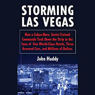 Storming Las Vegas audiobook cover art