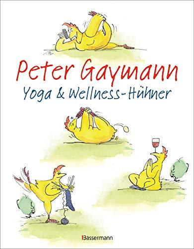 Yoga- und Wellness-Hühner