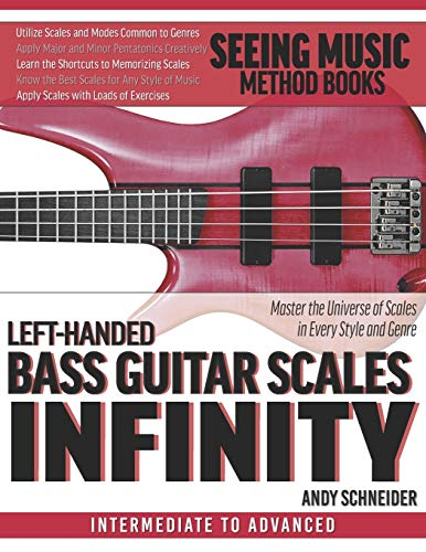 Compare Textbook Prices for Left-Handed Bass Guitar Scales Infinity: Master the Universe of Scales In Every Style and Genre  ISBN 9798686037090 by Schneider, Andy
