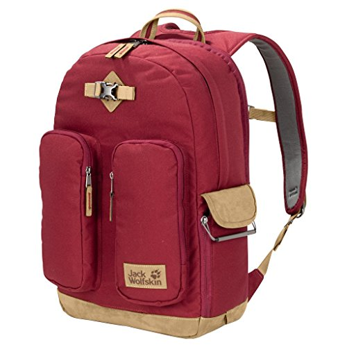 Jack Wolfskin Unisex 7 Dials Photo Pack fotografischer Rucksack, Dark Red, one Size