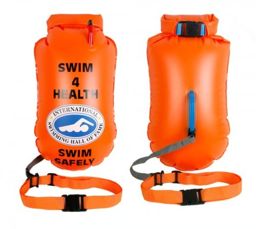 SwimmerWear Supporto Gonfiabile per Il Nuoto in Acque Libere L 64x30 cm
