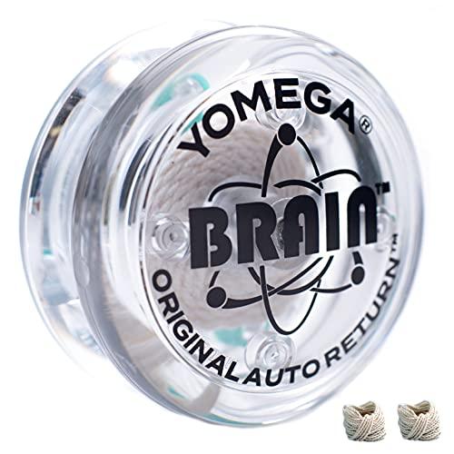 Yomega The Original Brain - Professional Yoyo For Kids And Beginners, Responsive Auto Return Yo Yo...
