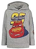 Disney Cars Boys Athletic Fleece Pullover Hoodie Gray 6