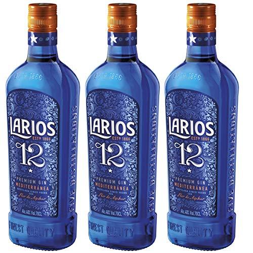 12 Flaschen Premium Gin 40% Vol. 3 x 0,7 l.