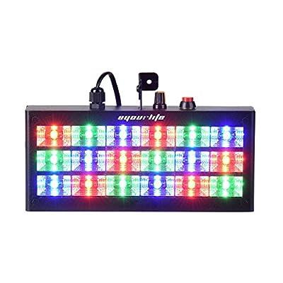 Eyourlife 18 LED 60W RGB LED Strobe Light Stage Lighting Led Party Bar For Disco Party Club Bar DJ (New Upgrade)
