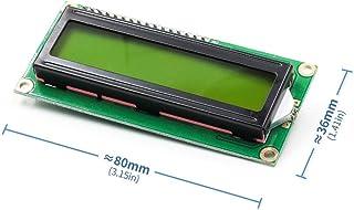 Yoneix LCD1602 1602 LCD HD44780 Screen Character LCD Display Yellow Blacklight TFT 16X2 LCD Module DC 5V(1PCS)
