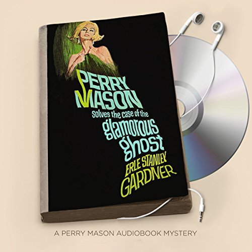 The Case of the Glamorous Ghost audiobook cover art