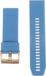 NICERIO Compatible avec Les Montres Garmin Fenix 5X 3 3HR - Bracelet de Montre en Silicone Bracelet de Montre de Remplacem...