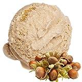 Sabor de avellana 1 Kg de helado suave danés Helado de Gino Gelati helado suave en polvo