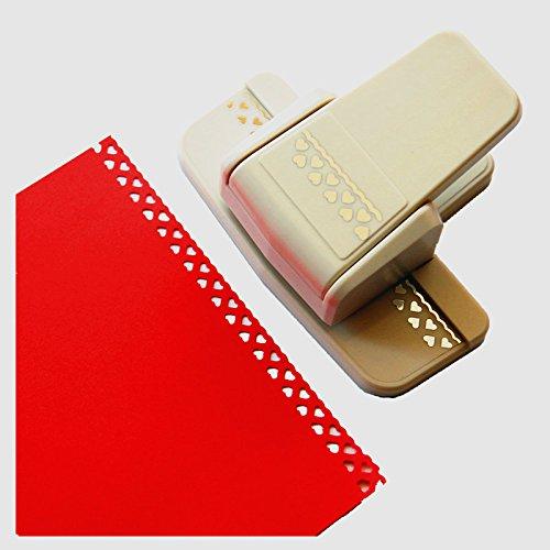 Cady Perforadora para artesanías; moderna y elegante perforadora para gofrar bordes de papel, ideal para álbumes de recortes. 9