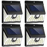 Nacinic solarlampe bewegungsmelder aussen, 40 LED solarleuchten für außen 270 °Weitwinkel...