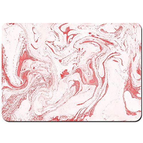 MZTYPLK Antideslizante Alfombra De Baño,Textura Abstracta.Pintura Efecto mármol.Acrílico,Alfombra de Cocina Alfombra Mascota,Alfombras de Ducha 80x60cm