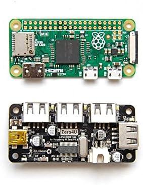 SB Zero4U 4-Port USB HUB for Raspberry PI Zero