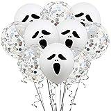 Emorias 1 juego de globos de látex con diseño de red de araña, para decoración de fiestas de Halloween, accesorios de graduación, máscaras, carnaval, actividades temáticas B