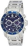 Invicta Men's 'Pro Diver' Quartz Stainless Steel Watch, Color:Silver-Toned (Model: 21921)