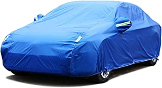 Compatible With Fiat Panda 4x4 Full Exterior Covers/High-Quality Car Body Cover All-Weather Rainproof/Snowproof/Windproof/...
