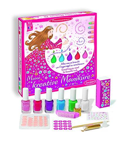 Cosmeticaset voor kinderen. Manicure.