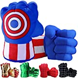 Toydaze Superhero Toys Fists for Boys, Infinity Gloves Superhero Costumes Hands, Blue