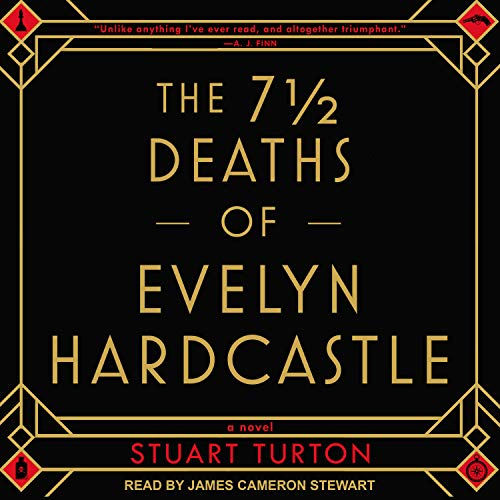 The 7 ½ Deaths of Evelyn Hardcastle audiobook cover art