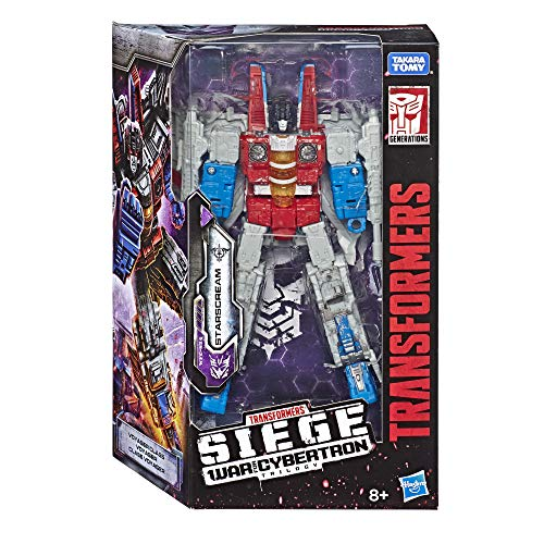 Transformers Generations WFC Voyager Starscream