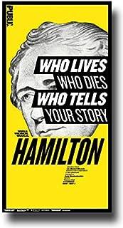 Concert Promoter Hamilton Poster - Broadway Musical Play 10 x 17 Alexander Lin Manuel-Miranda Public