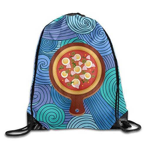 DearLord Beutel mit Kordelzug für Pizza, Brot, Polyester, für Outdoor-Sportarten
