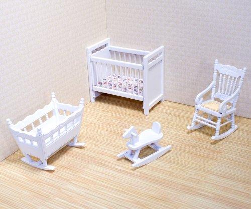Melissa & Doug - 12585 - Mobili per Casa di Bambole - Set per Stanza Del Bebè