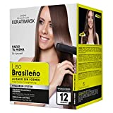 Be Natural - Kit Alisado Brasileño Keratimask - resultado profesional de larga...