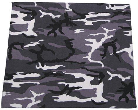 Unbekannt Bandana Urban Taille 55 x 55 cm-Coton