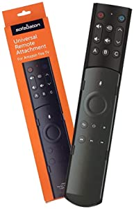 SofaBaton F2 Universal Remote Attachment for Amazon Fire TV Streaming Player with Power Volume and Mute Buttons (New ...