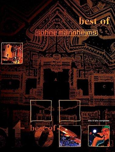 Best Of ... Söhne Mannheims: Songbook für Klavier, Gesang, Gitarre