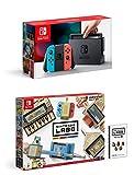 Nintendo Switch - Consola color Azul Neón/Rojo Neón + Nintendo Labo: Toy-Con Kit variado