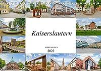 Kaiserslautern Impressionen (Tischkalender 2022 DIN A5 quer): Eine Bilderreise durch die einmalige Stadt Kaiseslautern (Monatskalender, 14 Seiten )