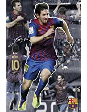 F.C. Barcelona Poster Messi Collage 64
