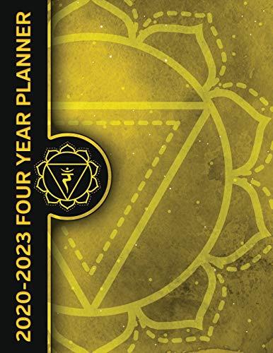 Solar Plexus Chakra Manipura 2020 - 2023 Four Year Planner: Energy Healing Monthly Calendar, Planner, Notebook and More!