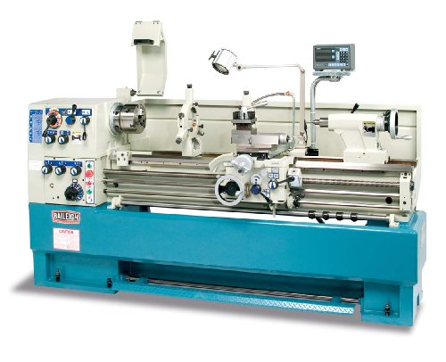 For Sale! Baileigh PL-1860 Precision Engine Lathe, 3-Phase 220V, 7.5hp Motor, 18 Swing, 2-3/8 Bore...