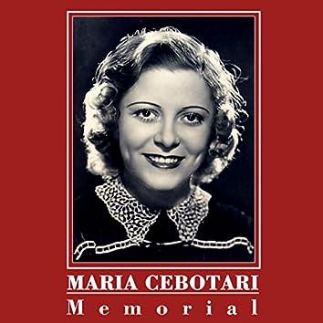 Maria Cebotari: Memorial