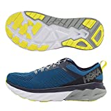 HOKA ONE ONE Men's Arahi 3 Running Shoes, Blue Sapphire / Mood Indigo, 11