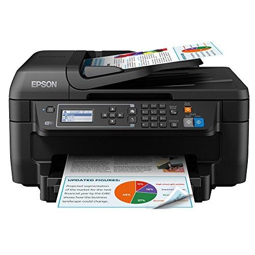 Preisvergleich Produktbild Epson Workforce WF-2750DWF Tintenstrahl 33 Seiten pro Minute 4800 x 1200 DPI A4 WLAN - Multifunktionsgeräte (Tintenstrahl,  4800 x 1200 DPI,  150 Blätter,  A4,  Direkter Druck,  Schwarz)