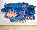 3D pegatinas de pared pegatinas de pared 3D calcomanía de arte 3D vinilo habitación arte cartel