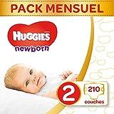 Huggies Newborn Nouveaux-Nés Couches Bébé...