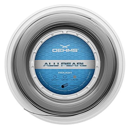 Oehms Alu Pearl Rough Rough | 200m (660ft) Rolle | Profilierte Co-Poly Tennissaite