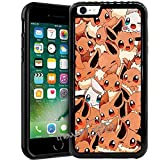 Case for iPhone SE (2020), iPhone 8 (2017), iPhone 7 (2016) 4.7 Inch, Pokemon Eevee PC + TPU 2in1 Hybrid Case Cover + Thewart8 Stylus Pen (#184)