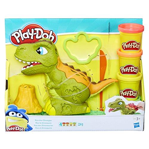 Play-Doh Rex der Dinosaurier, Knete für fantasievolles und kreatives Spielen