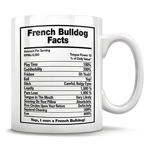 Französische Bulldogge Hund Fakten Französisch Bulldogge Geschenk Französisch Bulldogge Vater Französisch Bulldogge Becher frenchie