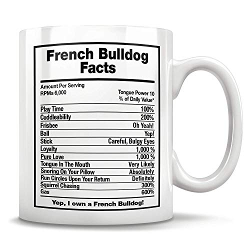 N\A Französische Bulldogge Hund Fakten Französisch Bulldogge Geschenk Französisch Bulldogge Vater Französisch Bulldogge Becher Frenchie