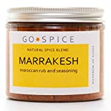 Marrakesh Moroccan Ras el Hanout - Floral and Aromatic - Use in Tagines, as a Dry Rub for Meat or add Oil or Yoghurt to Make a Marinade for Lamb or White Fish - 90g