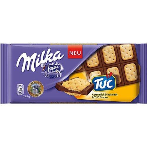 Milka & TUC Crackers - Pack of 3 by Milka